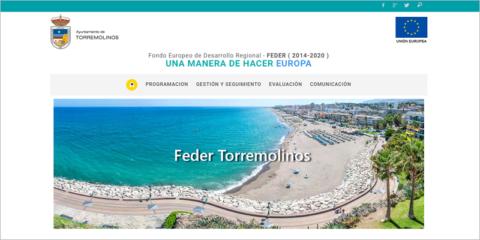 El Ayuntamiento de Torremolinos lanza una web con información sobre sus proyectos EDUSI