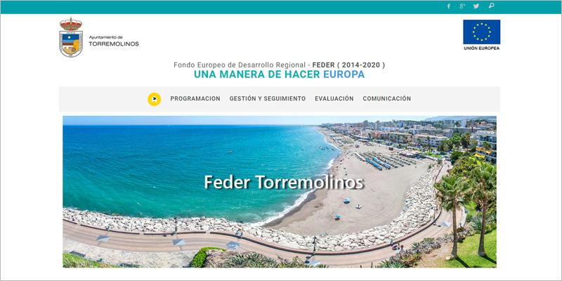 El Ayuntamiento de Torremolinos lanza una página web con información sobre sus proyectos EDUSI