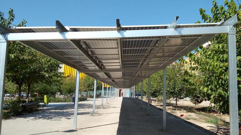 pérgolas fotovoltaicas en Valencia