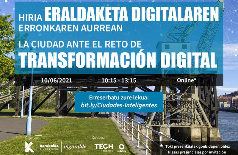jornada 'La Ciudad ante el reto de la Transformación Digital'