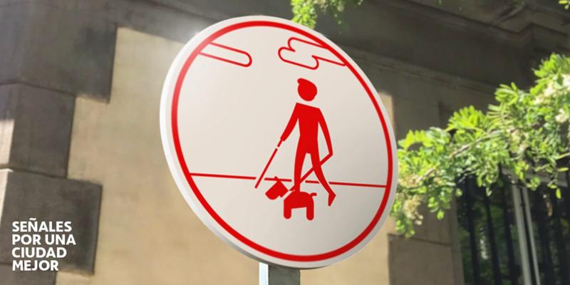 Campaña para concienciar sobre el uso cívico del espacio urbano para evitar barreras a personas con discapacidad