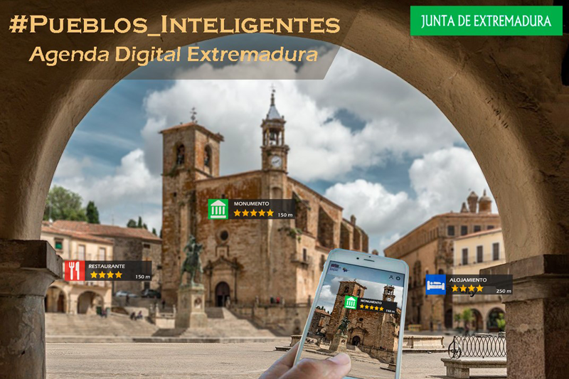 ayudas para transformar municipios extremeños en pueblos inteligentes