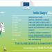 La Comisión Europea organiza la primera edición de los Infodays de Horizonte Europa