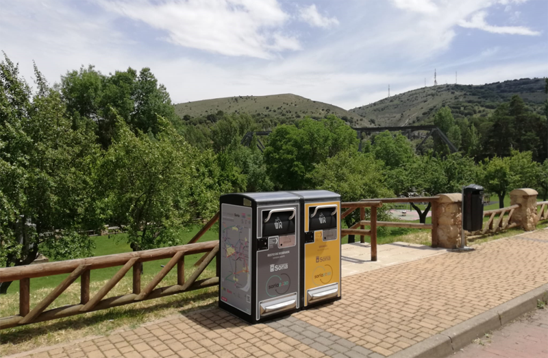 Future Street ha instalado papeleras inteligentes en Soria
