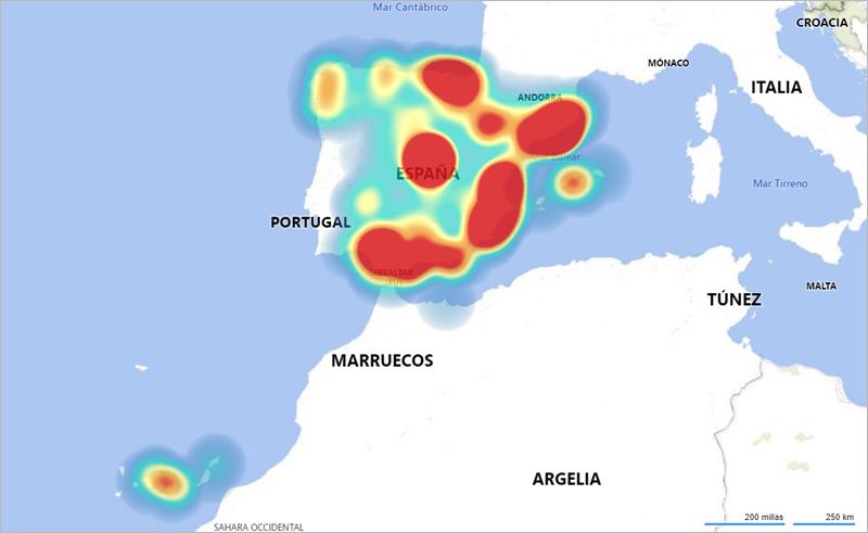 'Mapa del IoT en España'