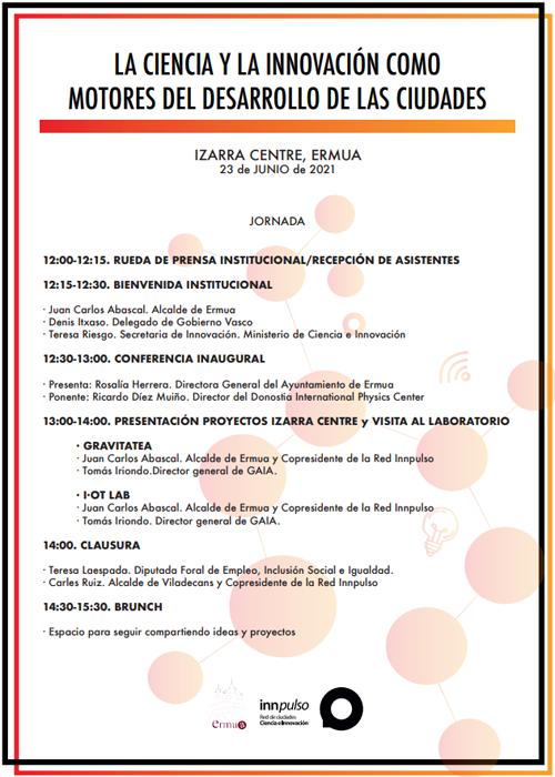 Programa 'La Ciencia y la Innovación como motores del desarrollo de las ciudades'