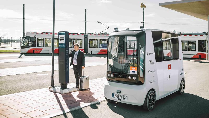 autobús autónomo del proyecto Fabulos