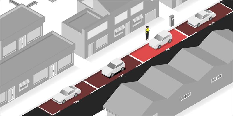 Solución de Urbiotica para el control de las zonas de estacionamiento regulado