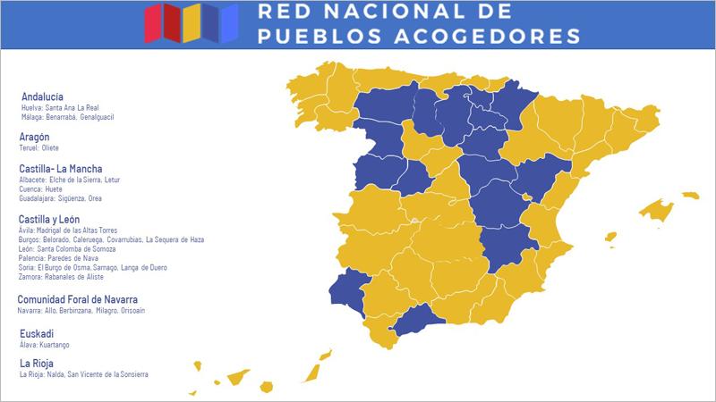 Un total de 27 localidades se unen a la Red Nacional de Pueblos Acogedores para el Teletrabajo