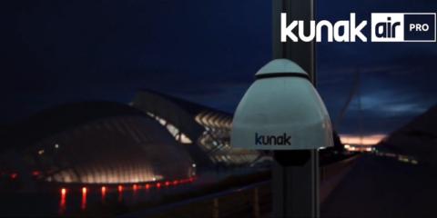 Kunak AIR Pro, la estación de control de la calidad del aire para profesionales