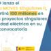 Aprobada la primera convocatoria del Programa Moves Singulares II por valor de 100 millones de euros