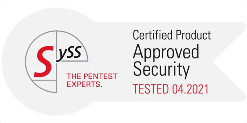 La cámara de seguridad Mx6 y la plataforma Mobotix 7 renuevan la certificación en ciberseguridad de SySS