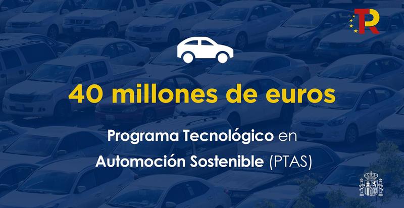 Programa Tecnológico de Automoción Sostenible 2021