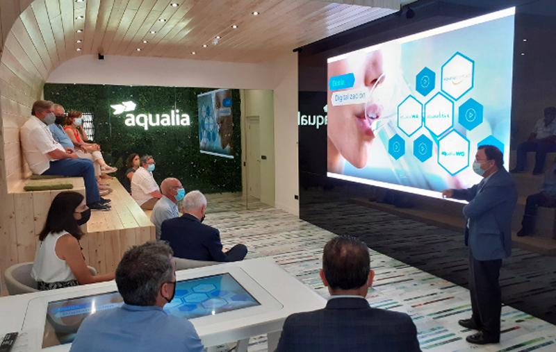 presentación del servicio digital de gestión del agua de Denia