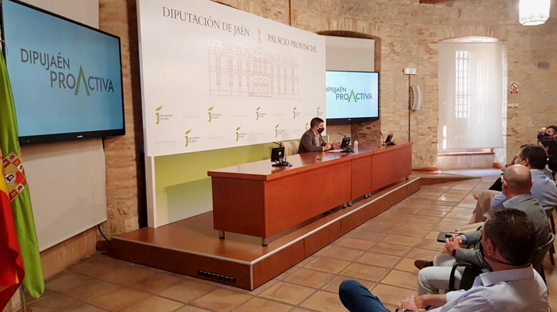 presentación del Plan DipuJaén Proactiva