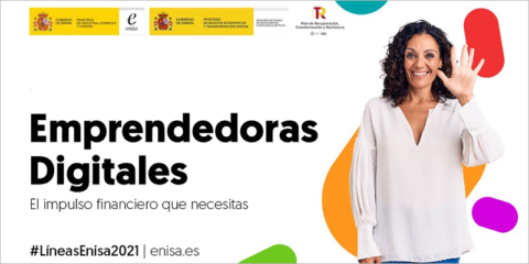 Abierta una línea de financiación gestionada por ENISA para impulsar el emprendimiento digital femenino