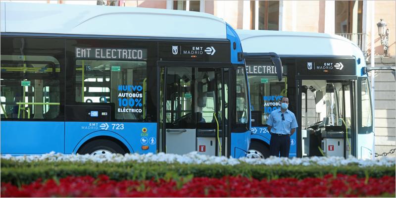 La Empresa Municipal de Transportes de Madrid suma 30 nuevos autobuses eléctricos a su flota