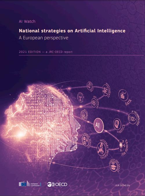 informe de estrategias nacionales de IA en la UE