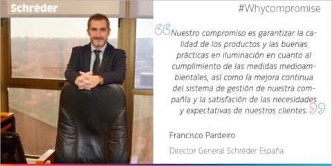 Francisco Pardeiro, director general de Schréder España, nombrado vicepresidente de Anfalum