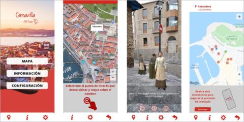 Gijón pone en marcha dos rutas turísticas mediante realidad aumentada