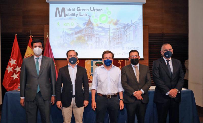 Presentación de Madrid Green Urban Mobility Lab