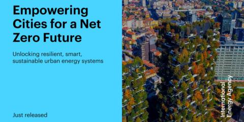 Nuevo informe de IEA para acelerar la transición energética en las ciudades inteligentes