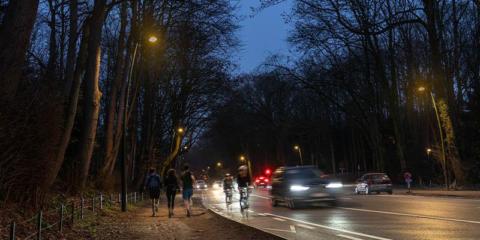 Proyecto piloto de iluminación inteligente para el parque urbano Bois de la Cambre de Bruselas con las soluciones de Schréder