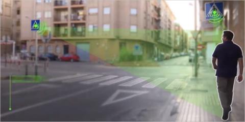 Paso de peatones inteligente de Pavapark