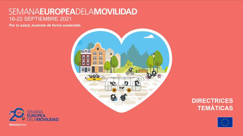 Sostenibilidad, seguridad y salud, temas de la Semana Europea de la Movilidad 2021