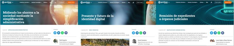 blog de tecnología para el sector público