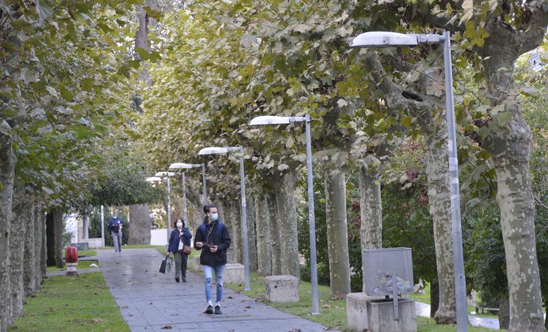 piloto de iluminación inteligente en el campus de Ourense de la UVigo