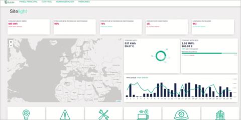 Plataforma SiteLight de Sitelec