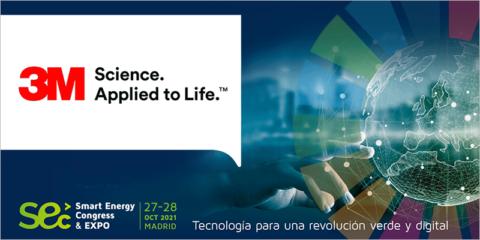 3M estará presente en el encuentro Smart Energy Congress & Expo 2021 en Madrid