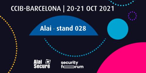 Alai Secure analizará el papel del operador Telco en el evento Security Forum 2021