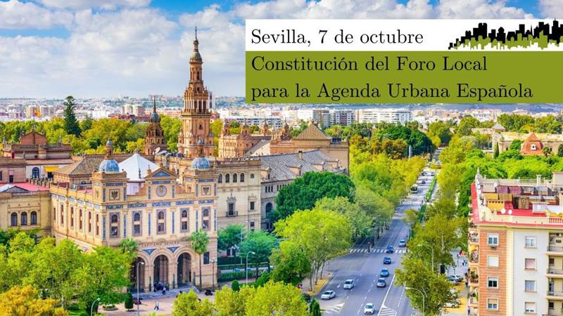 Constitución del Foro Local de la Agenda Urbana Española