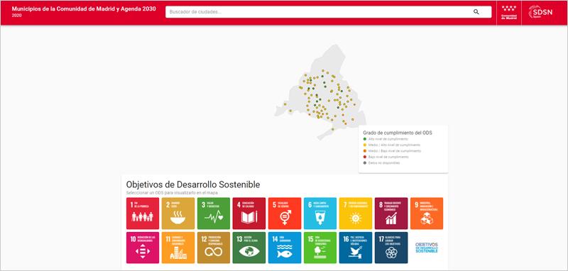 Los municipios de la Comunidad de Madrid y la Agenda 2030. Diagnóstico sobre su grado de aplicación