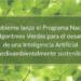 Manifestación de interés para desarrollar el Programa Nacional de Algoritmos Verdes